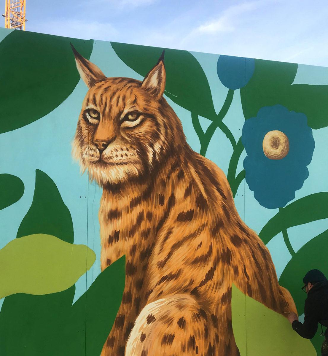 arturbain murales quai 36 Saddo1 - Quai 36 invite des street artistes à colorer halls de gare et palissades de chantiers