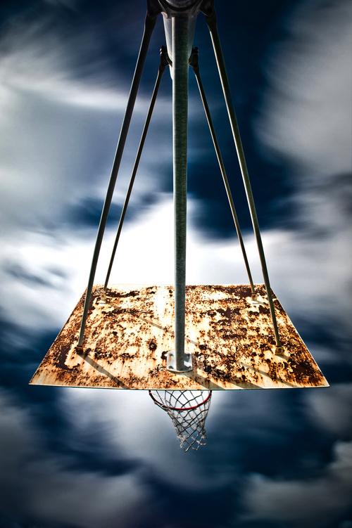 basket reverse rob hammer - Le rêve américain à travers les paniers de basket immortalisés par Rob Hammer