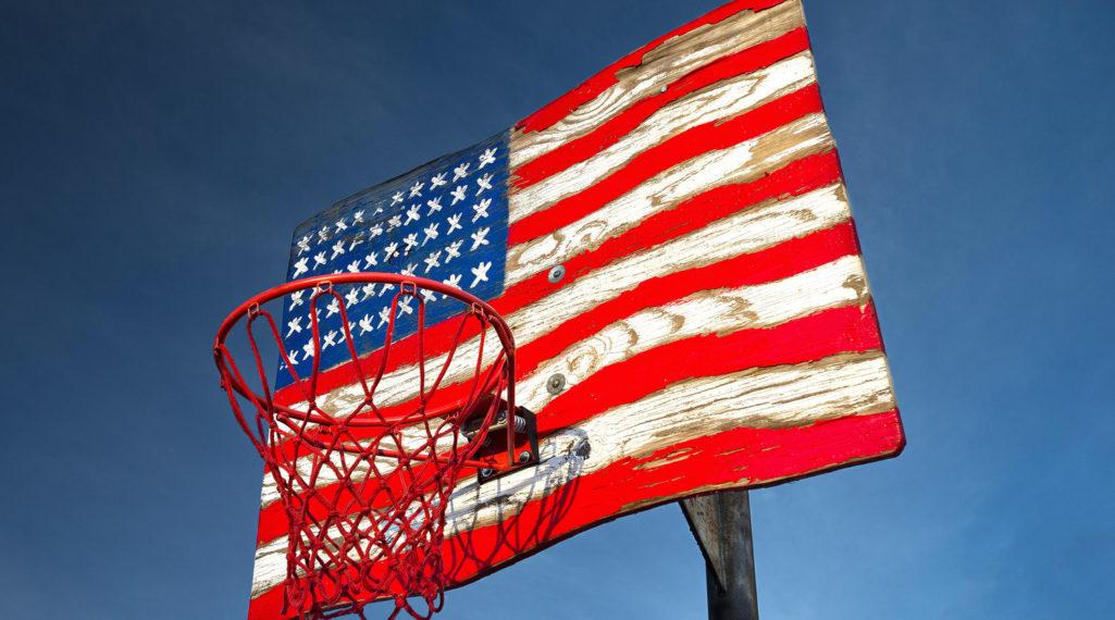 Le rêve américain à travers les paniers de basket immortalisés par Rob Hammer