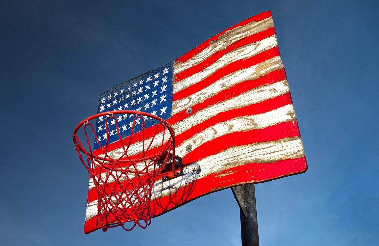 basket usa rob hammer - Le rêve américain à travers les paniers de basket immortalisés par Rob Hammer