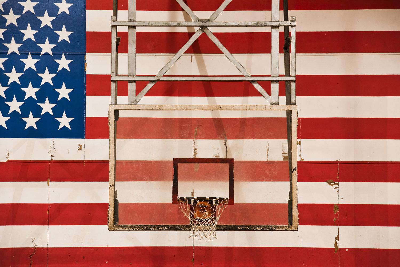 basket usa terrain rob hammer - Le rêve américain à travers les paniers de basket immortalisés par Rob Hammer