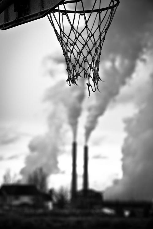 basket usine rob hammer - Le rêve américain à travers les paniers de basket immortalisés par Rob Hammer
