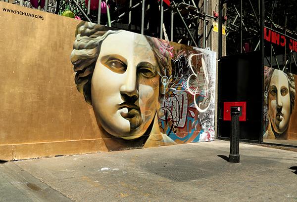 pichiavo londres - PichiAvo, le duo de graffeurs qui réussit à mixer beaux-arts et graffiti