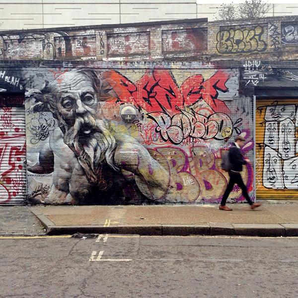 pichiavo robbo - PichiAvo, le duo de graffeurs qui réussit à mixer beaux-arts et graffiti