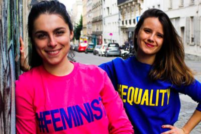 """streetart tour visite Paris feminisme 400x268 - Un """"street art tour"""" féministe débarque à Paris"""