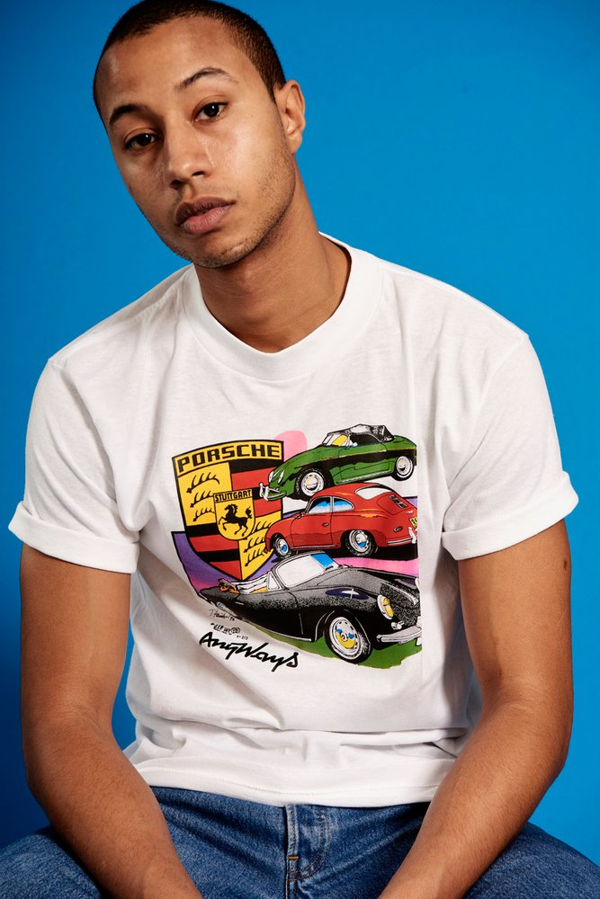 ANYWAYS COLLECTION4747 porsche streetwear - Anyways, quand l'univers automobile s'invite dans le streetwear