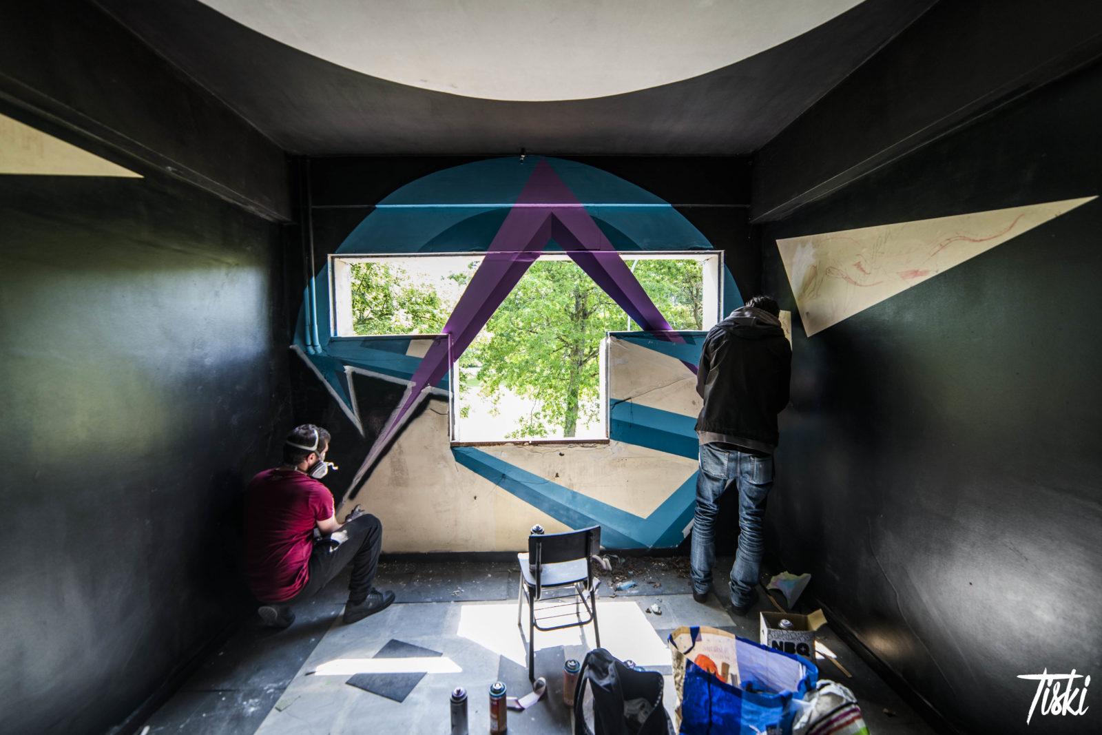 LaBel Valette Fest domaine Asto bombes - LaBel Valette Fest : l'art et les cultures urbaines font revivre un château abandonné