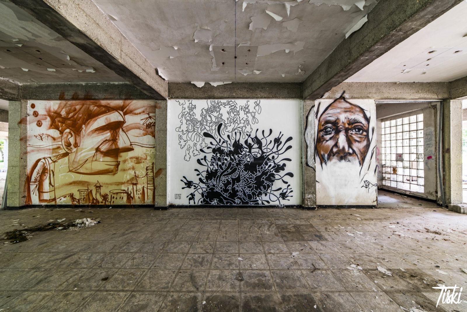 LaBel Valette Fest domaine mika Lysst JEF mur - LaBel Valette Fest : l'art et les cultures urbaines font revivre un château abandonné