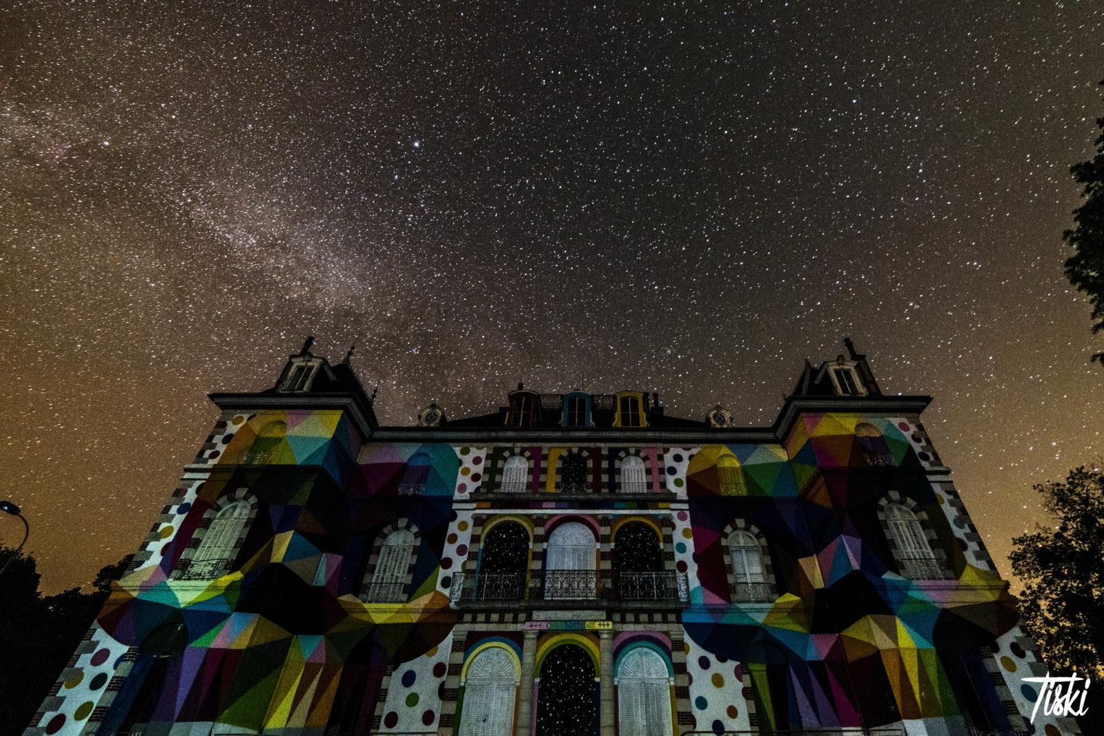 LaBel Valette Fest domaine okuda chateau nuit - LaBel Valette Fest : l'art et les cultures urbaines font revivre un château abandonné