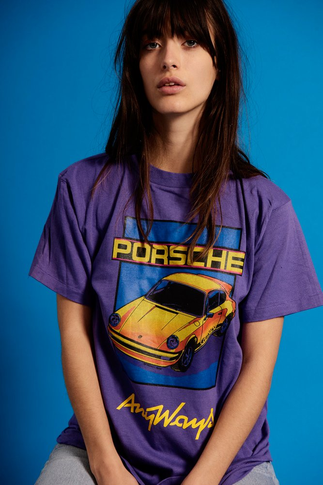 Ride Anyways Porsche streetwear tee - Anyways, quand l'univers automobile s'invite dans le streetwear