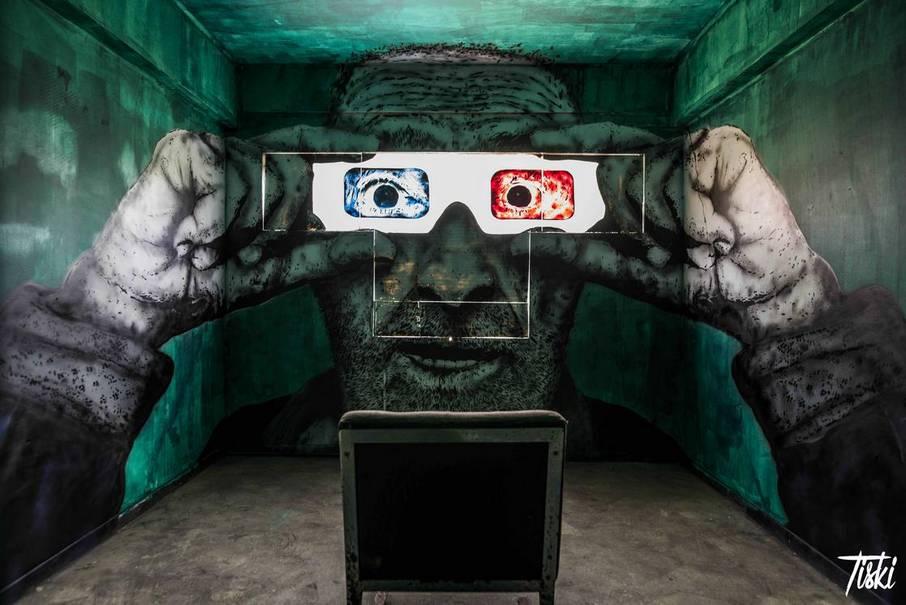 label valette festival streetart Tiski - LaBel Valette Fest : l'art et les cultures urbaines font revivre un château abandonné
