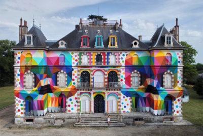 label valette festival streetart okuda 400x268 - LaBel Valette Fest : l'art et les cultures urbaines font revivre un château abandonné