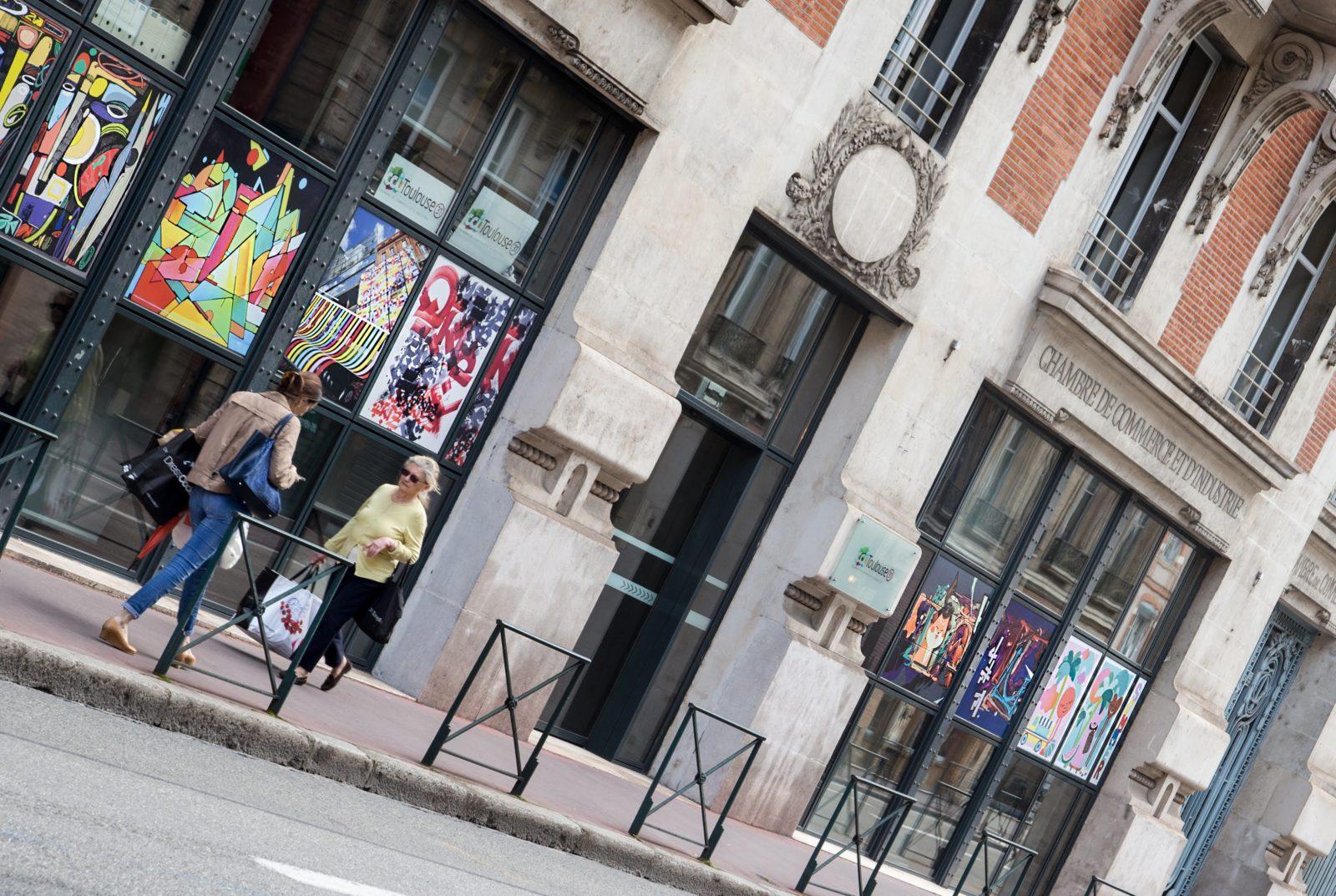 street art festival toulouse 31street oeuvres chambre commerce industrie - #31 street, le festival d'art urbain qui colore la ville rose