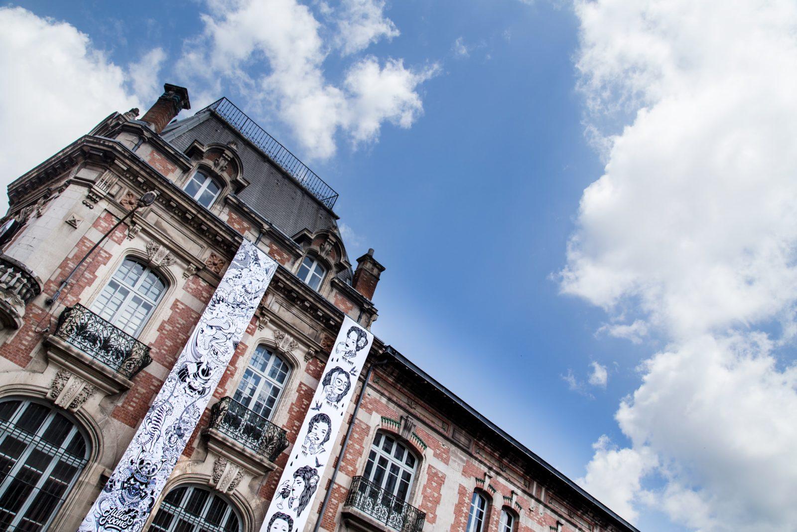 street art festival toulouse 31street parchemin noir blanc - #31 street, le festival d'art urbain qui colore la ville rose