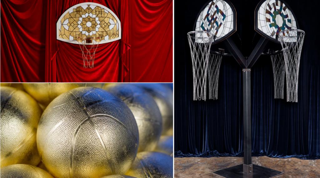 Literally Balling : le sculpteur Victor Solomon transforme le basket en objet d'art