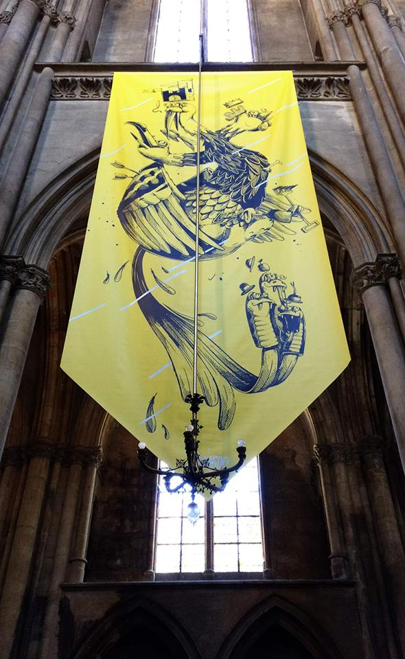 Arophone Festival Metz Streetart 16 7 - Festival Aérophone : le street art s'approprie l'architecture médiévale