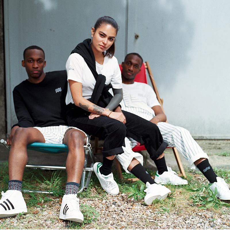 Chaussettes Roche Musique - Le label Roche Musique lance sa première collection de streetwear