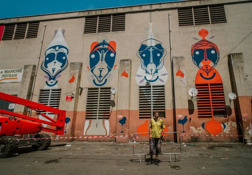 Marseille street art show ville festival Amose copyright photographe Yoshitaro - Où partir cet été ? À la découverte des meilleurs festivals de street art en Europe