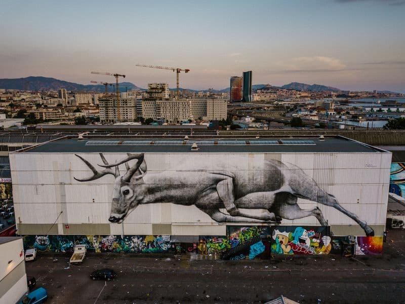 Marseille street art show ville festival Ruben Carrasco Ipaf Msas copyright photographe Yoshi Yanagita - Où partir cet été ? À la découverte des meilleurs festivals de street art en Europe