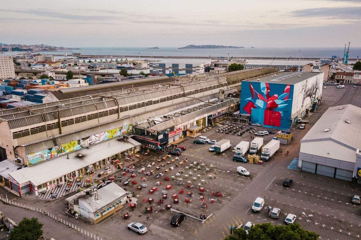 Marseille street art show ville festival vue ensemble paf Msas copyright photographe Yoshi Yanagita - Où partir cet été ? À la découverte des meilleurs festivals de street art en Europe