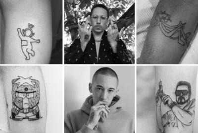 Nolik tatouage paris 400x268 - Entre cartoons et street : bienvenue dans l'univers du tatoueur Nolik
