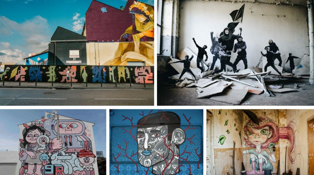 Où partir cet été ? À la découverte des meilleurs festivals de street art en Europe