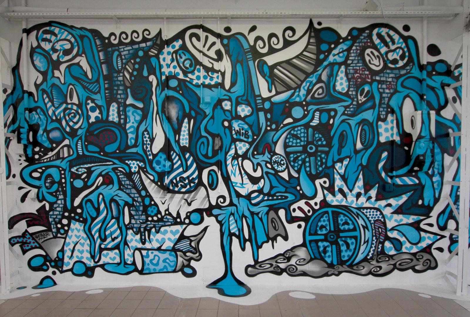 colorama street art festival biarritz couleurs bebar copyright katyparis - Où partir cet été ? À la découverte des meilleurs festivals de street art en Europe