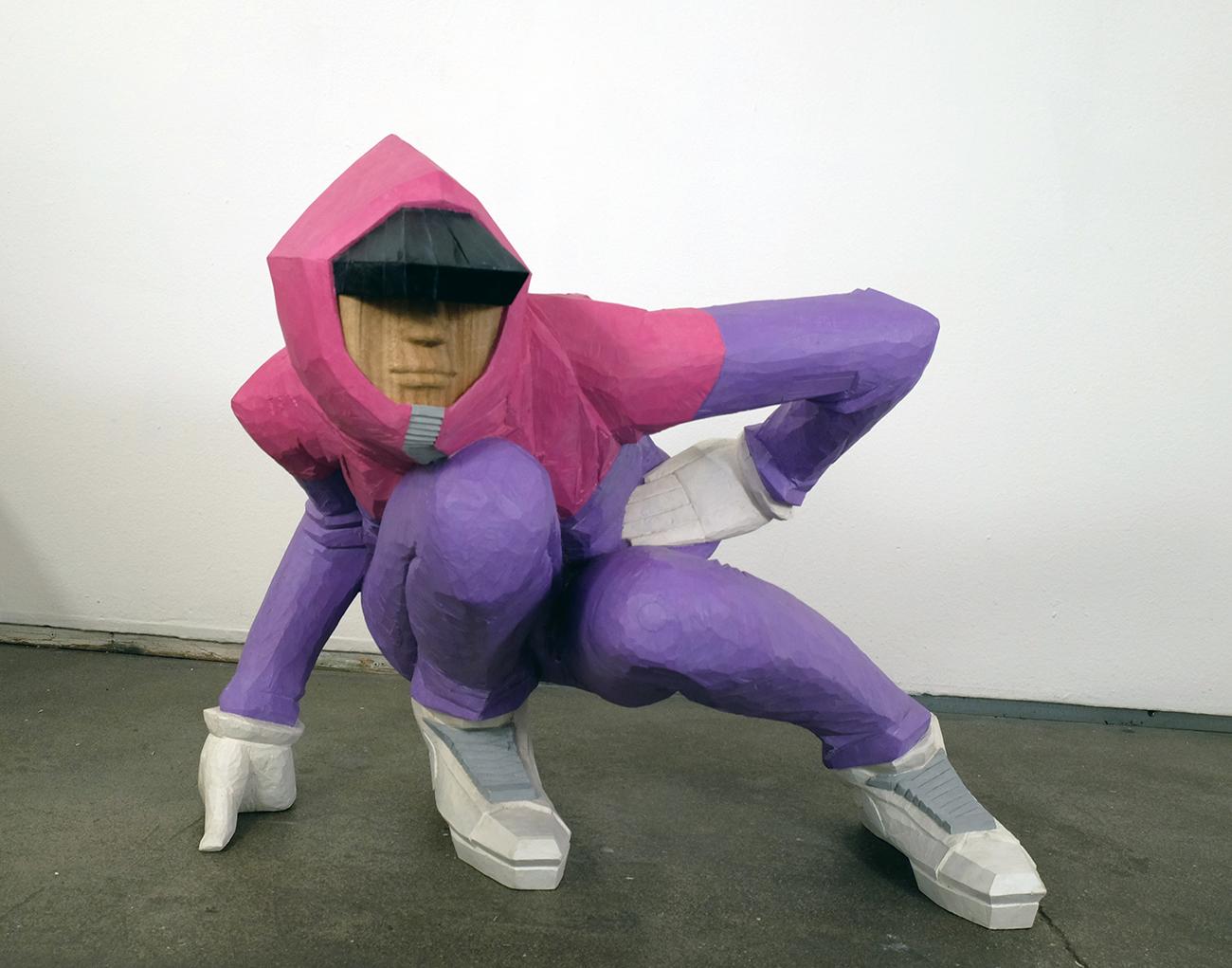 taku obata radar 2 - BUST A MOVE : Taku Obata célèbre le breakdance en sculptant des danseurs en plein mouvement