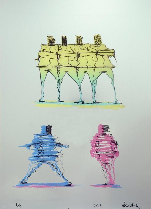 taku obata radar 6 - BUST A MOVE : Taku Obata célèbre le breakdance en sculptant des danseurs en plein mouvement