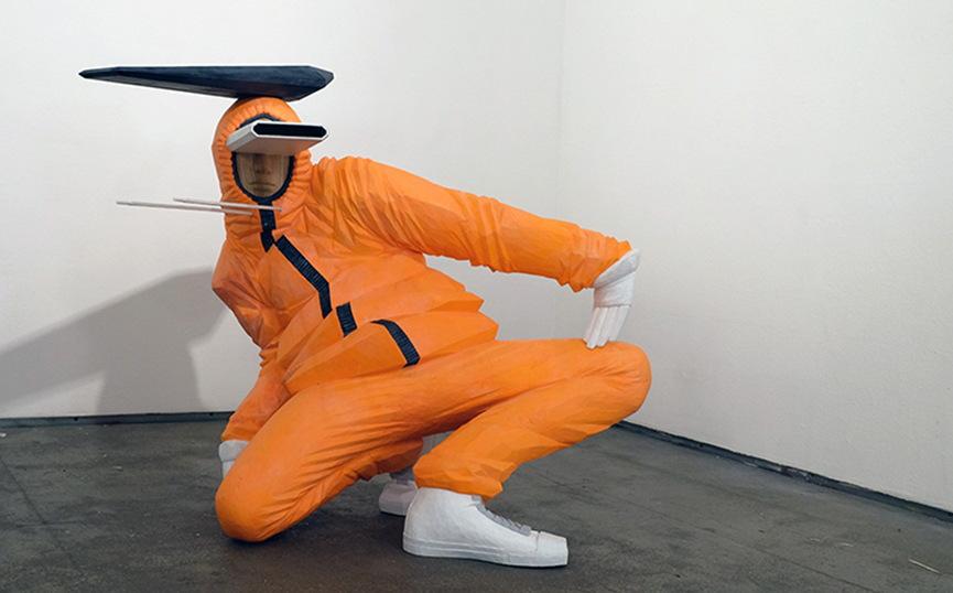 taku obata radar sculpture art hiphop 14 - BUST A MOVE : Taku Obata célèbre le breakdance en sculptant des danseurs en plein mouvement