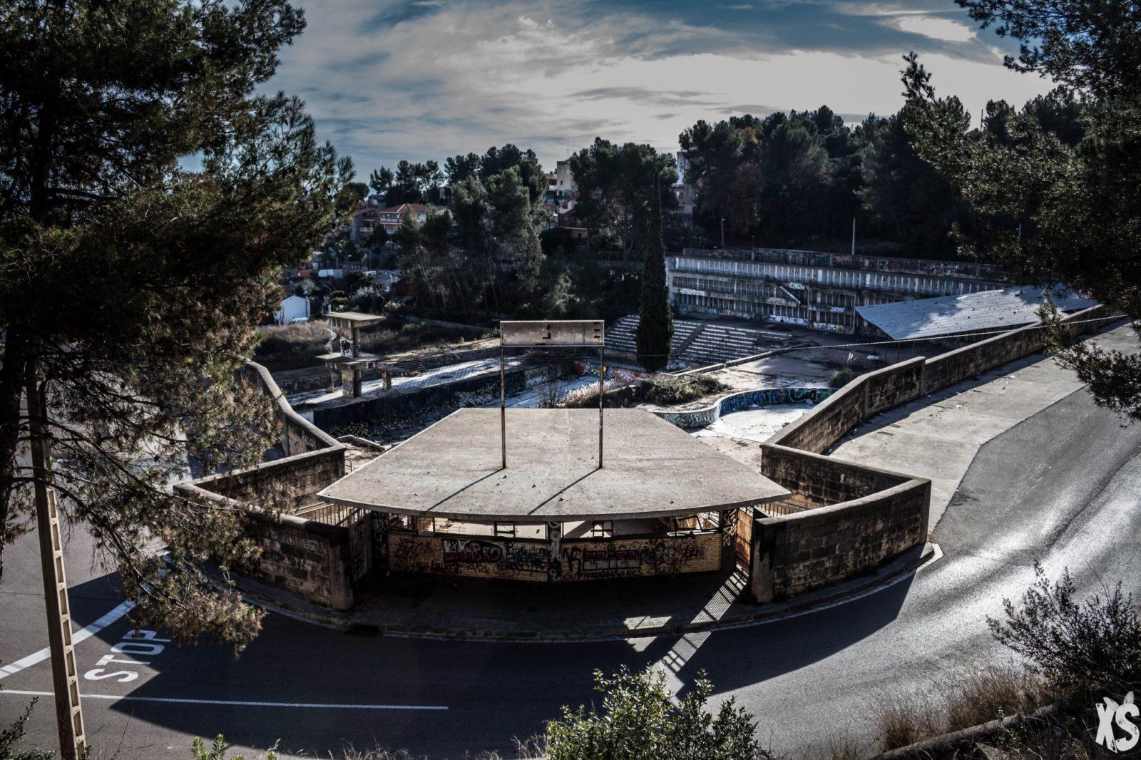 Piscine olympique de la Vega 10urbex radar exlporation piscine abandon fantome - Piscines olympiques et parcs aquatiques : les plus beaux spots abandonnés