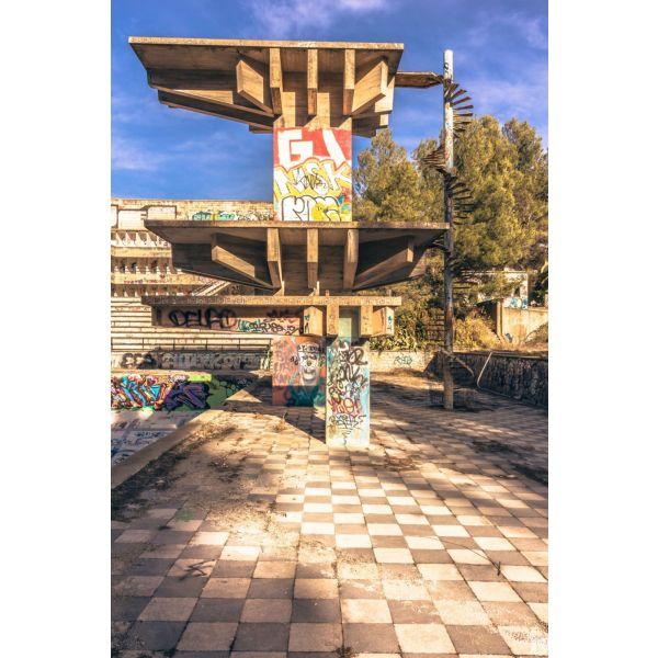 Piscine olympique de la Vega 1urbex radar exlporation piscine abandon fantome - Piscines olympiques et parcs aquatiques : les plus beaux spots abandonnés