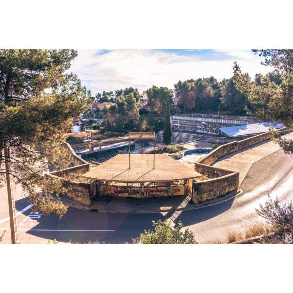 Piscine olympique de la Vega 2urbex radar exlporation piscine abandon fantome - Piscines olympiques et parcs aquatiques : les plus beaux spots abandonnés