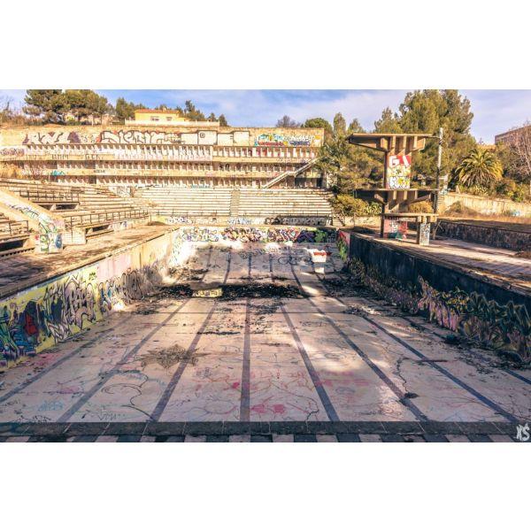 Piscine olympique de la Vega 3urbex radar exlporation piscine abandon fantome - Piscines olympiques et parcs aquatiques : les plus beaux spots abandonnés