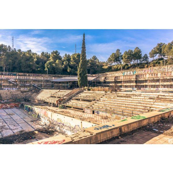 Piscine olympique de la Vega 4urbex radar exlporation piscine abandon fantome - Piscines olympiques et parcs aquatiques : les plus beaux spots abandonnés