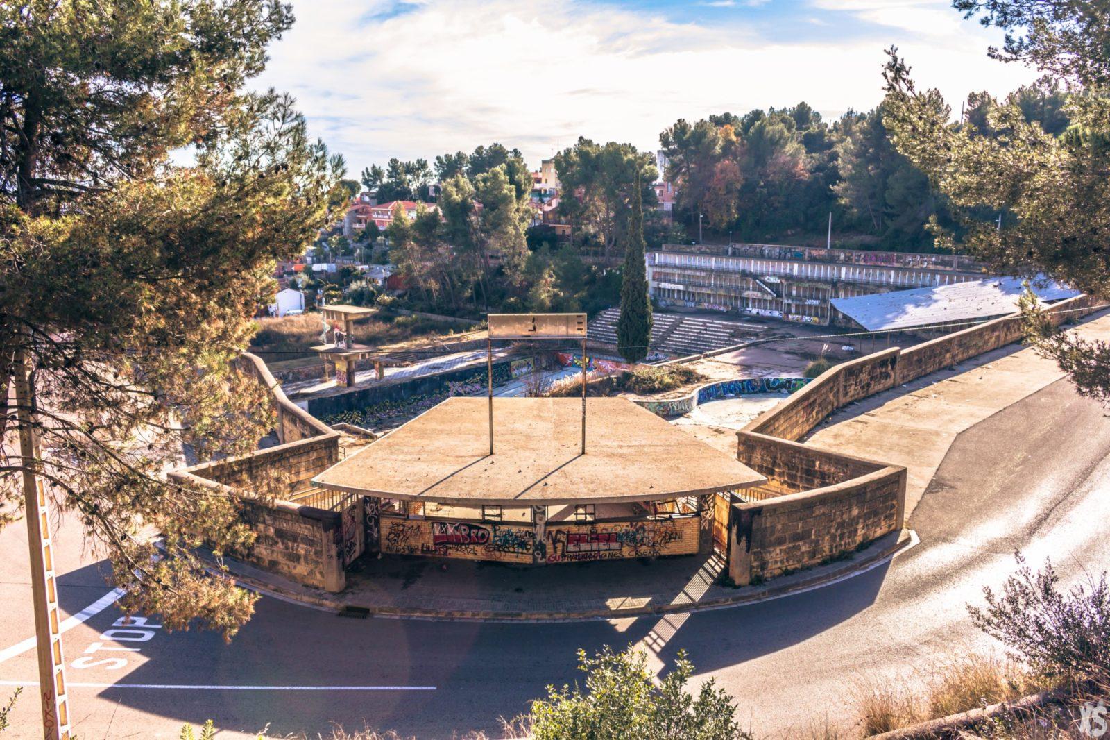 Piscine olympique de la Vega 5urbex radar exlporation piscine abandon fantome - Piscines olympiques et parcs aquatiques : les plus beaux spots abandonnés
