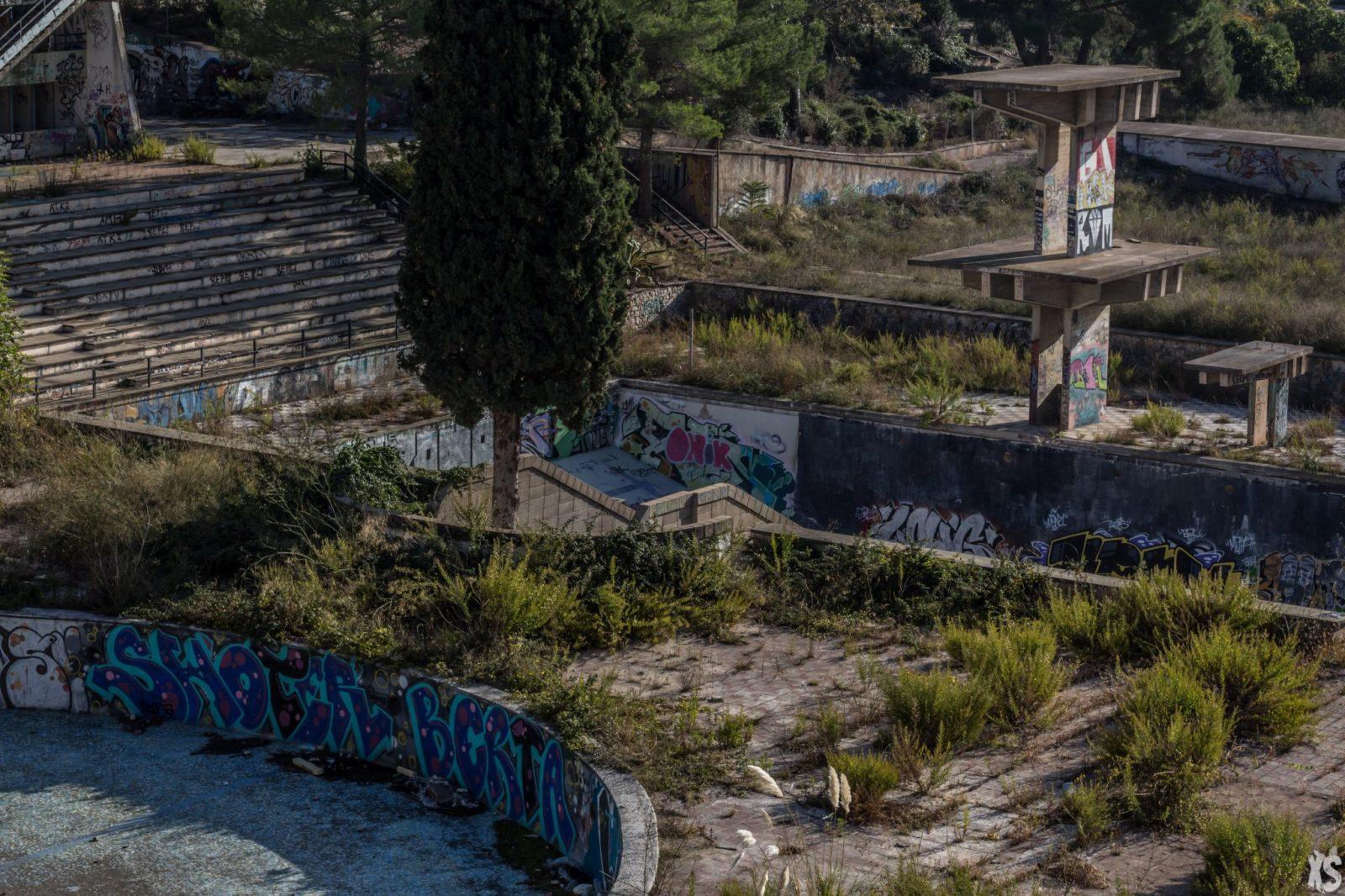 Piscine olympique de la Vega 9urbex radar exlporation piscine abandon fantome - Piscines olympiques et parcs aquatiques : les plus beaux spots abandonnés