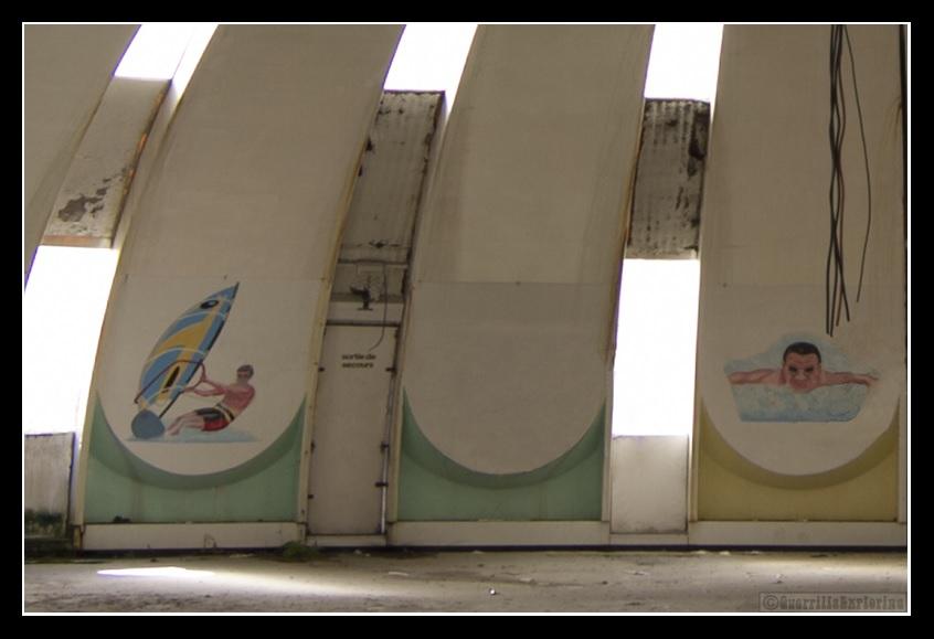 Piscines Tournesol 3urbex radar exlporation piscine abandon fantome - Piscines olympiques et parcs aquatiques : les plus beaux spots abandonnés