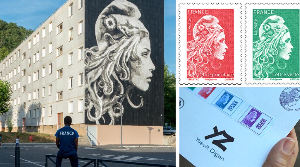YZ, la street artiste engagée derrière la nouvelle Marianne