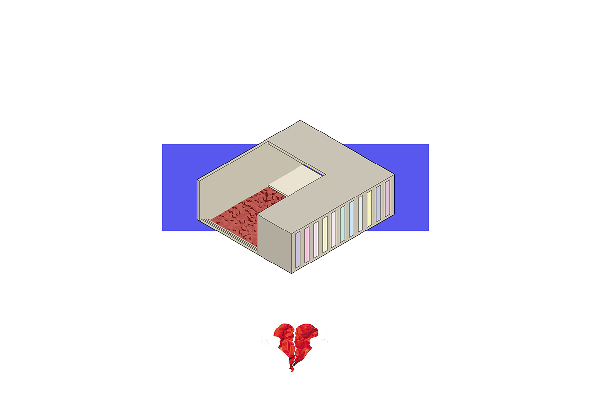 portorreal kanye west maison radar illustration album architecture 808 - « House of Ye » : les covers de Kanye West ré-interprétées en une série de dessins d'architecture