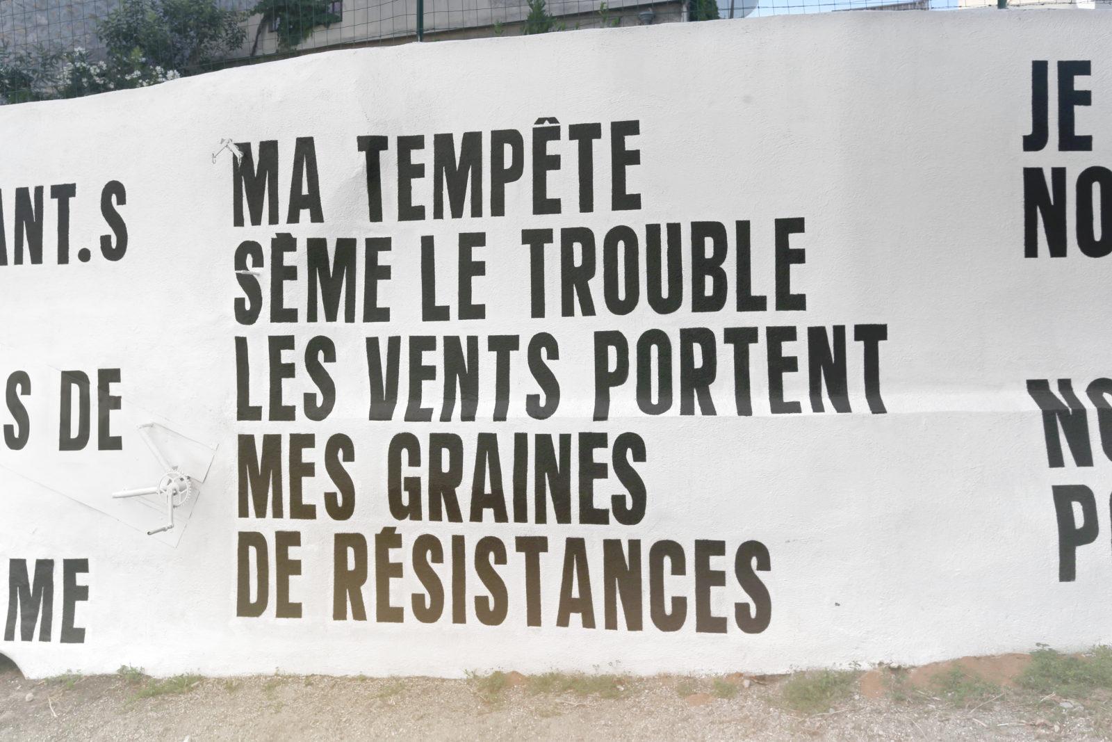 """street art marseille exposition emancipation couvent lettrages SEAN HART SeanHart 2 - """"Emancipation"""" : À Marseille, l'art urbain s'expose dans un ancien couvent"""