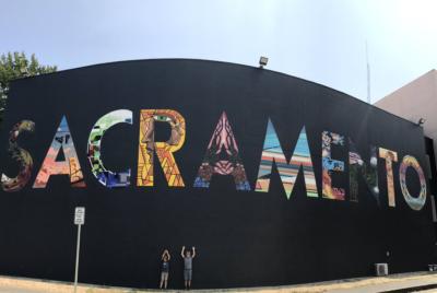 street art wide open walls sacramento californie USA festival mural lettrage Jamie Kneitel radar 400x268 - Les 10 murales les plus marquantes du festival Wide Open Walls Sacramento