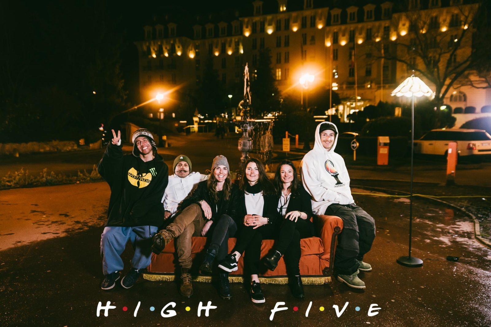 Festival High Five 2018 Friends - Films, big air, animations : le High Five festival célèbre le ski sous toutes ses formes !