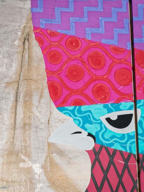 Karriere fresques streetart - En Bourgogne, des fresques murales monumentales réveillent une ancienne carrière !