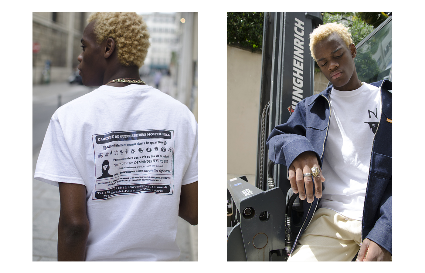 """Noth Hill streetwear france paris marque rentre lookbook culture 7 - Le streetwear """"à la française"""" : 5 nouvelles marques à chiner sans traîner"""