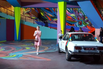 delhaize 11 400x268 - À Bruxelles, l'art urbain investit un ancien supermarché de 5 000 m² !