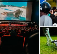 Films, big air, animations : le High...