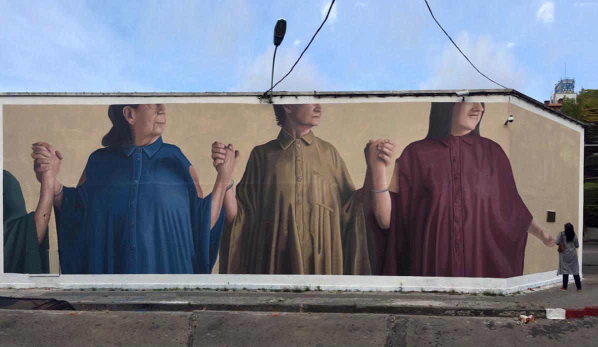 street art montevideo uruguay murale femmes union LICUADO - Le street art à Montevideo ? Un art de vivre !