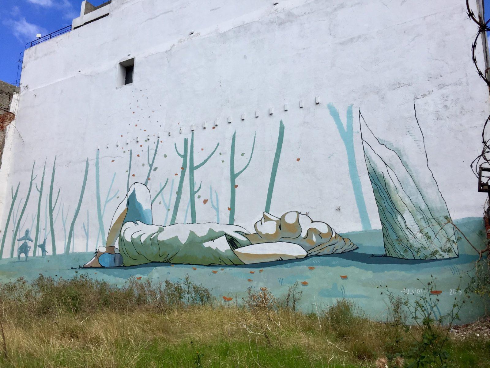 vstreet art montevideo uruguay murale nature poetique FULVIET copyright MANU RIVOIR - Le street art à Montevideo ? Un art de vivre !
