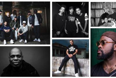 Montage visage du rap delaplace 400x268 - Les visages du rap français se mettent à nu sous l'objectif de David Delaplace